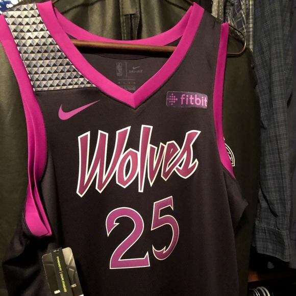 Nike Other Minnesota Timberwolves Derrick Rose Prince Jersey
